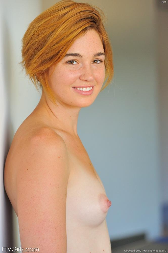 Tiny tit redhead porn