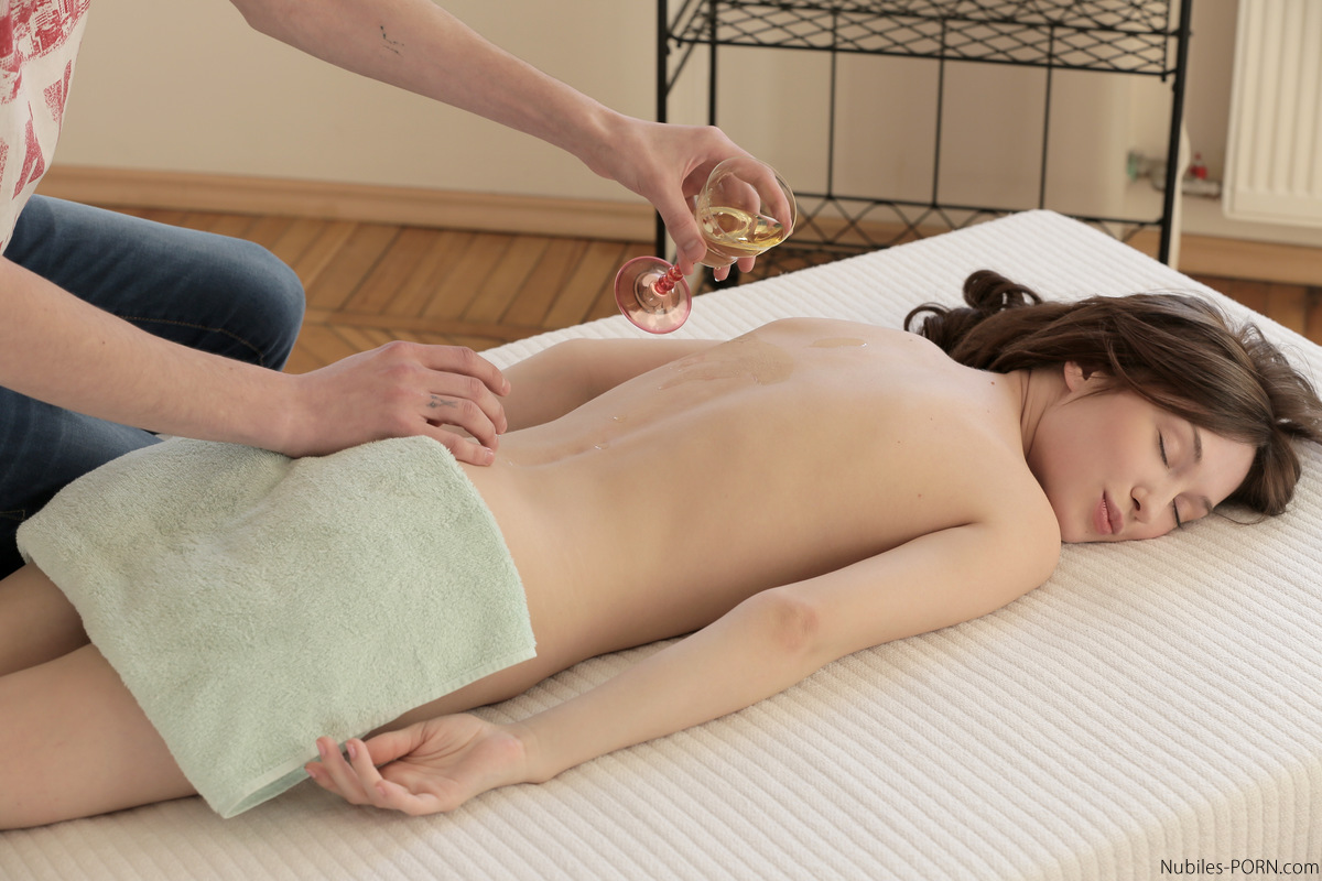 A Sensual Massage Turns Into A Naughty Fuck When Petite Julie Vee Stuffs Her Soft Puffy Twat With Her Boyfriends Huge Dick